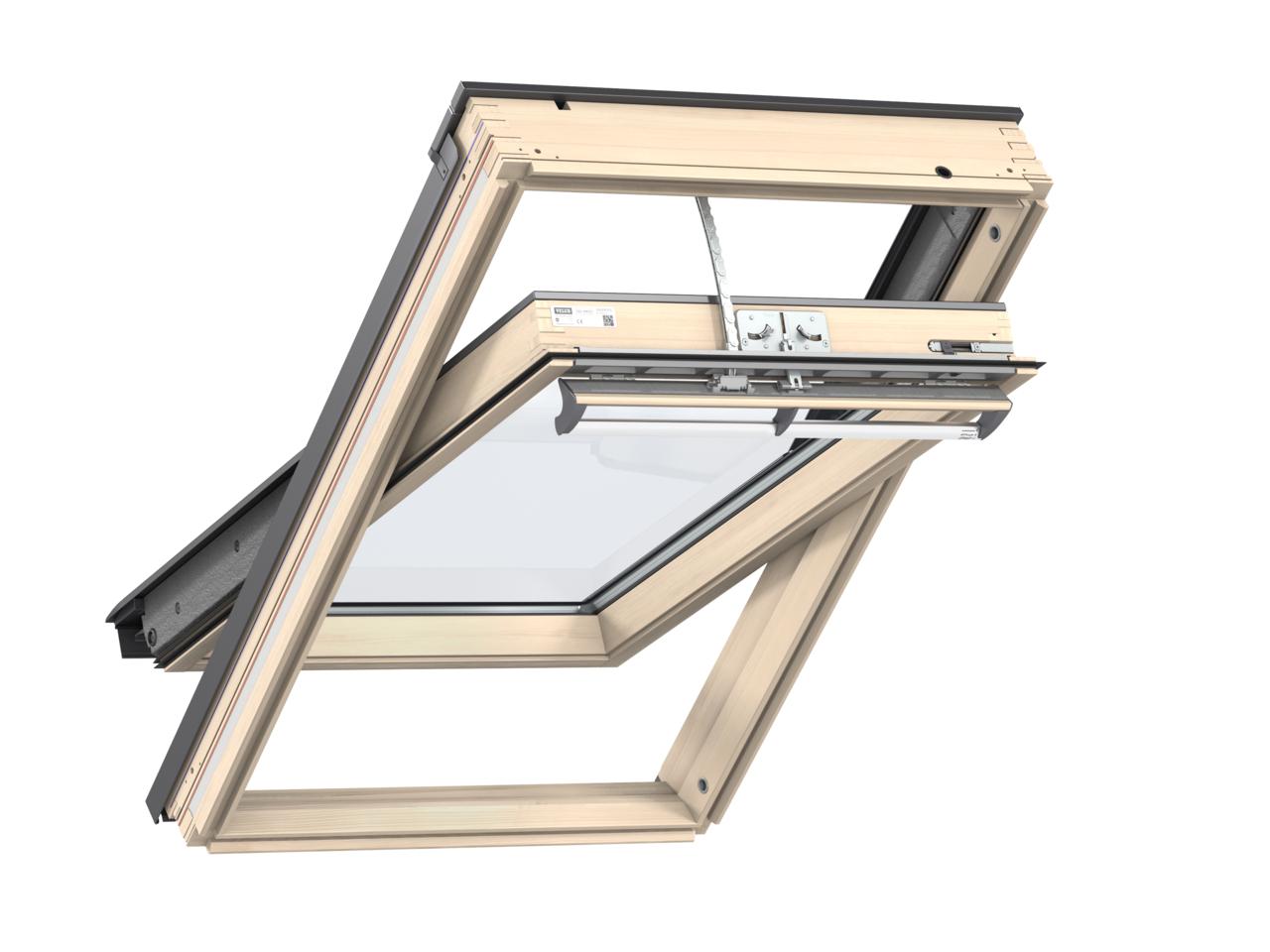 elektrische velux dachfenster gll 1055 | baubay.de