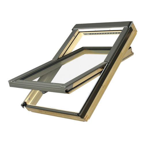 holz dachfenster fakro ftp v l3 mit vsg. Black Bedroom Furniture Sets. Home Design Ideas