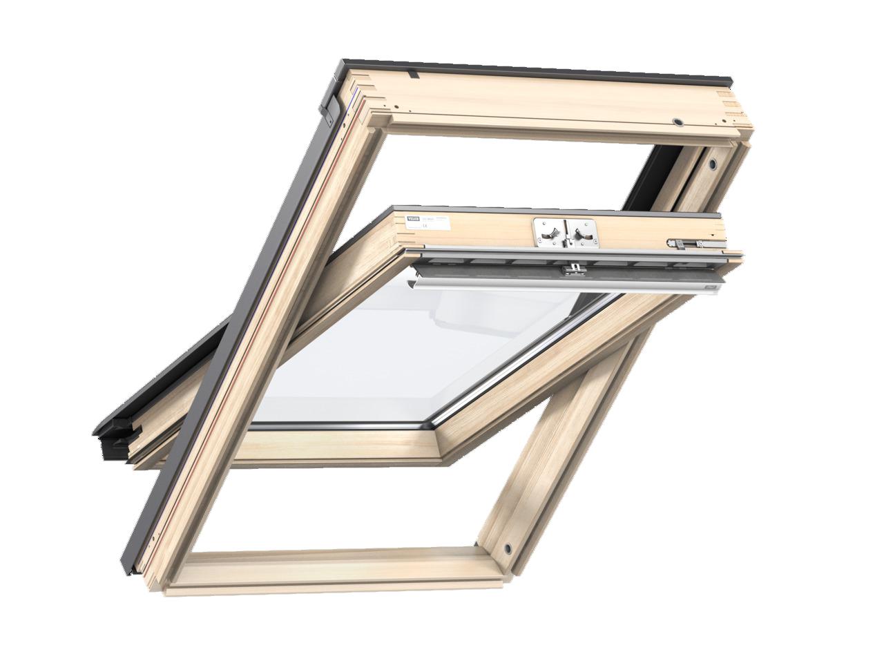 dachfenster velux gzl 1051 g nstig im online shop. Black Bedroom Furniture Sets. Home Design Ideas