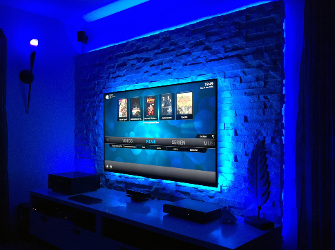 Projekt TV-Wand