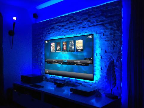 Hervorragend TV Wand Selber Bauen