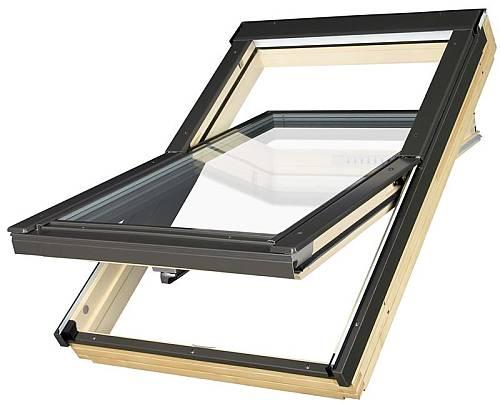 dachfenster fakro fts u2 schwingfenster aus holz. Black Bedroom Furniture Sets. Home Design Ideas