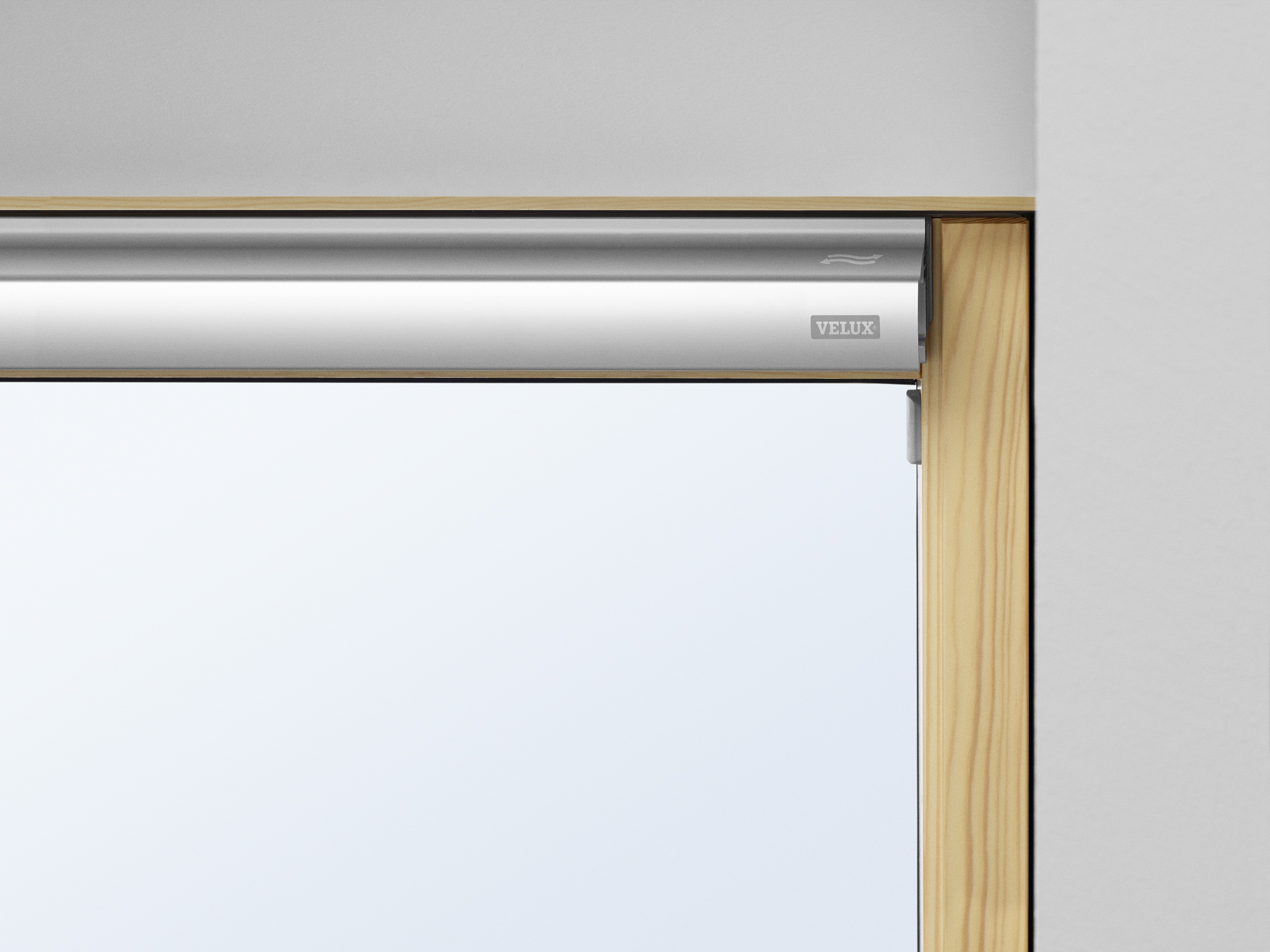 fen tre de toit velux gzl 1051 finition bois massif. Black Bedroom Furniture Sets. Home Design Ideas