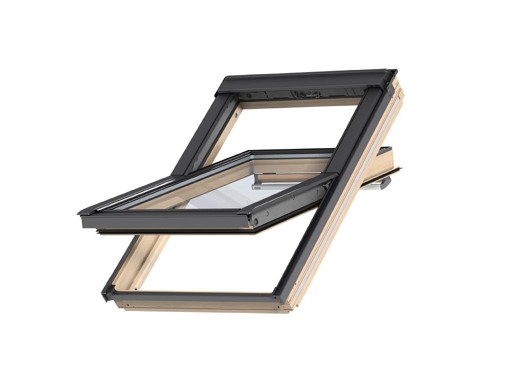 Barre D Ouverture Velux pour fenêtre de toit velux ggl 3070q   finition bois massif