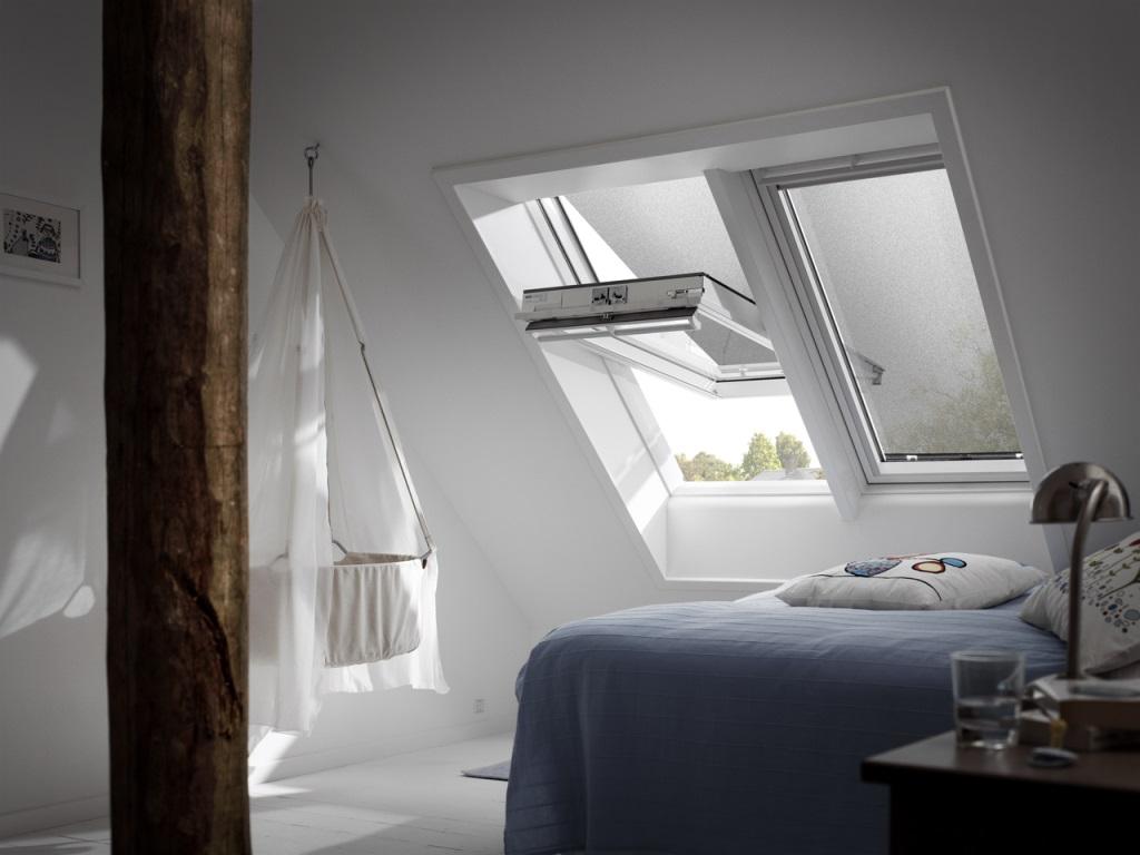 roof window velux ggu comfort 60 everfinish. Black Bedroom Furniture Sets. Home Design Ideas