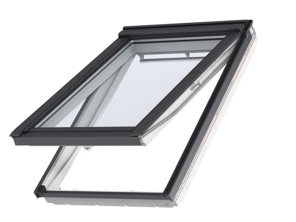fen tre de toit velux gpu 0066 finition everfinish le blanc ternel. Black Bedroom Furniture Sets. Home Design Ideas