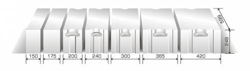 porenbeton pp2 050 gasbeton planstein nach din v 4108 4. Black Bedroom Furniture Sets. Home Design Ideas