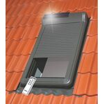 FAKRO ARZ Solar: wireless controled solar-powered roller shutters for Fakro roof windows