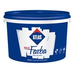 Atlas ECO-FARBA white acrylic paint for indoor use