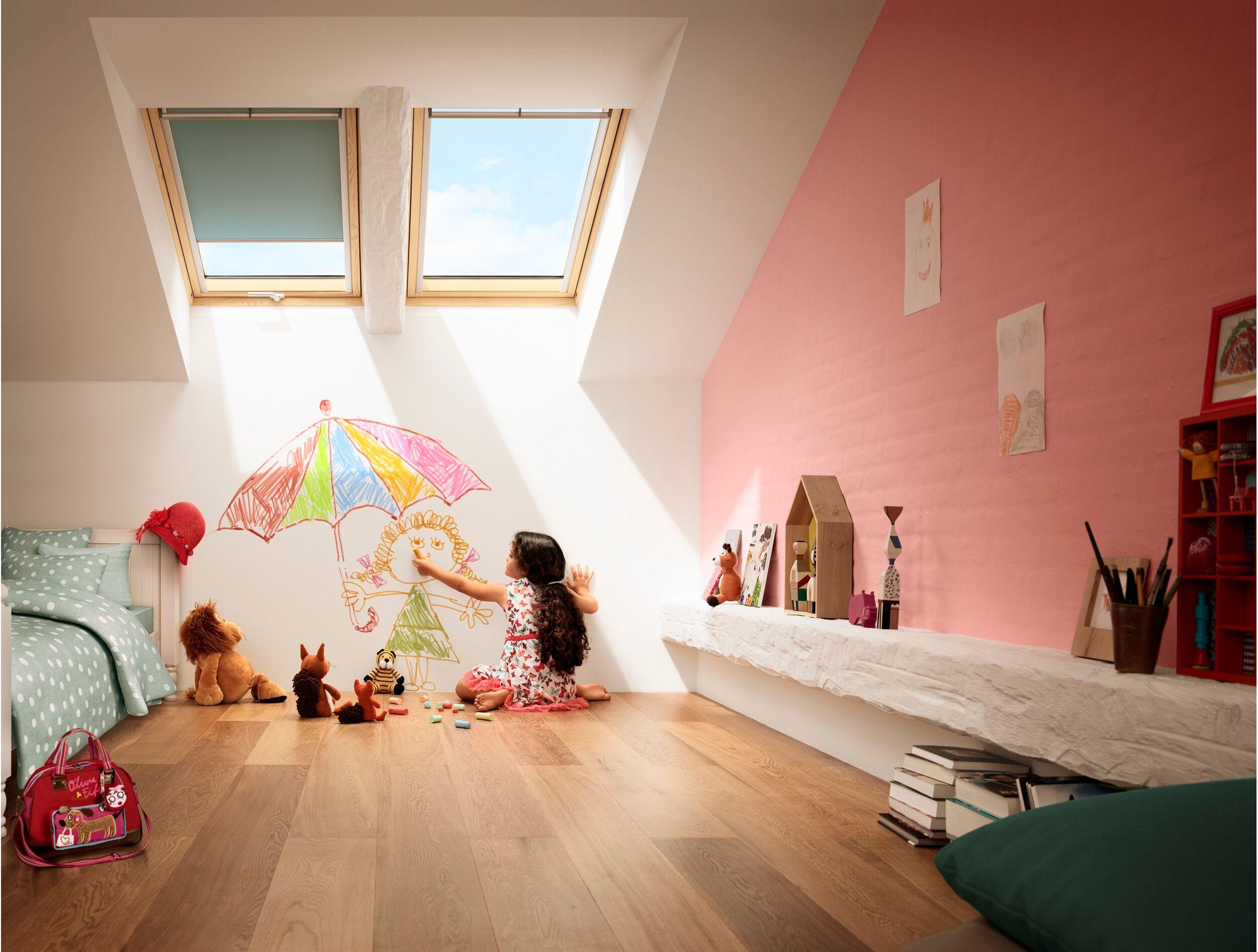 Barre D Ouverture Velux dedans fenêtre de toit velux gpl 3066   finition bois massif