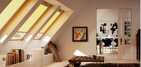 Pleated blind VELUX FHL
