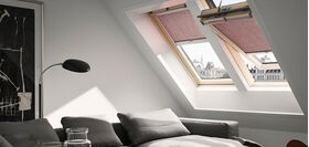 Electic-powered roller blind VELUX RML