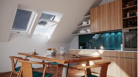RoofLITE+ Roof window TRIO PVC