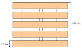 Palette 960x1000mm pour blocs silico-calcaires