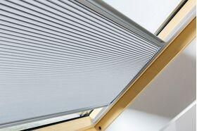 FAKRO APF | blackout pleated blind for FAKRO roof windows ✓ OptiLight ✓ ARON ✓ ARTENS