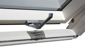 Dachfenster OptiLight VB-W mit Dauerlüftung, weiß lackiert