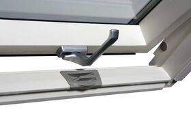 OptiLight VB-W   wooden, white, 2-glass roof window with ventilation valve