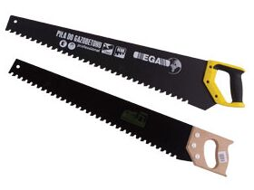 Hand saw with cutting tips for YTONG, H+H, SOLBET cellular concrete