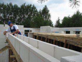Cellular concrete U-block