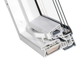 Kunststoff Dachfenster OptiLight TLP-V Energie mit 3-fach Verglasung