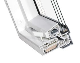PVC roof window OptiLight TLP-V ENERGIE with triple glazing and air inlet