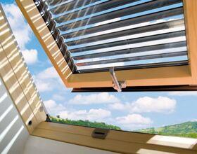 ARZ-H Außenrollladen von FAKRO - beschränkter Wärmefluss durch Aluminium-Lamellen