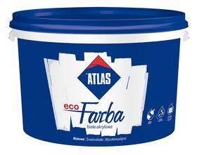 Peinture blanche mur et plafond ATLAS ecoFARBA : acrylique