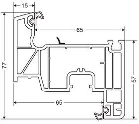 IMPACT 80 MD   PVC windows
