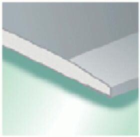 Plaque de plâtre GKB 12.5 x 1200 x 2000 mm