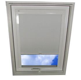 White blackout blind for roof window