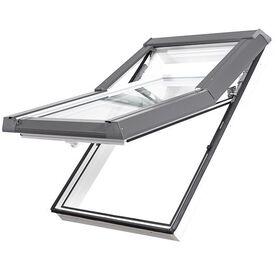 SKYLIGHT | PVC, high pivot, 2-glass roof window