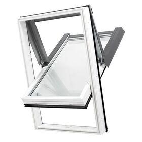 Fenêtre de toit en PVC SkyLight PREMIUM : blanc