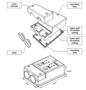 Modul FAKRO ZWMA - die Möglichkeit der gleichzeitige Steuerung bis zu 231 Elektrogeräten