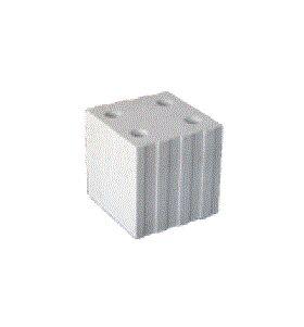 Brique silico-calcaire solide 240x240x250 mm