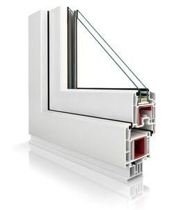 Fenêtre en PVC VEKA Perfectline VP70