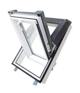PVC roof window SkyLight PREMIUM : white
