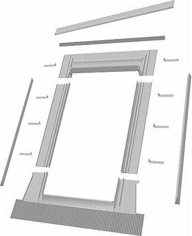 Eindeckrahmen Optilight TZ bis 45mm (Dachziegel)