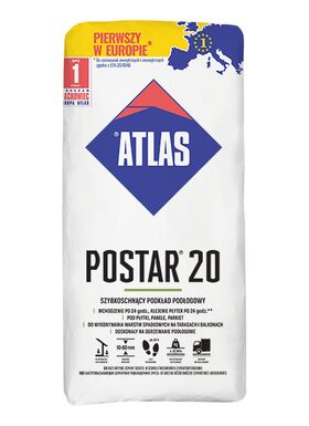 Atlas Postar 20 | quick-setting cement-based compound (10-80 mm)