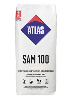 Atlas SAM 100   self-levelling anhydrite-gipsum compound (5-30 mm)