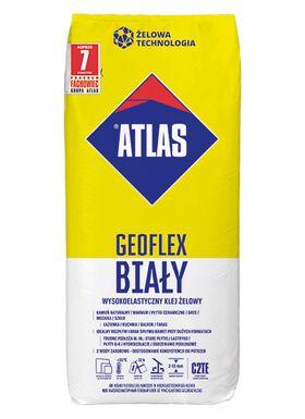 Hochflexibler Gel-Kleber ATLAS GEOFLEX WEISS für Marmor, Naturstein, Glasmosaik und Glasbausteinen
