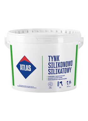 Atlas SAH-NS, thin-layer silicone-silicat render available in 400 colours