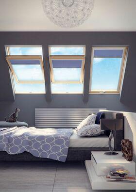 FAKRO FTP-V U4 - gute Beleuchtung und Raumlüftung im Dachgeschoss