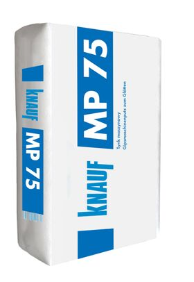 Knauf MP75, machanically applied gypsum plaster