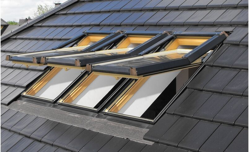 Pvc Roof Window Skylight Premium White